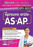 """Afficher """"Epreuve orale AS-AP 2019-2020"""""""