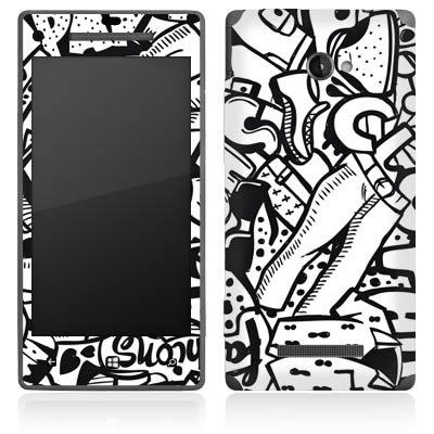 HTC Windows Phone 8X Case Skin Sticker aus Vinyl-Folie Aufkleber Kleidung Fashion Mode (8x Kleidung)