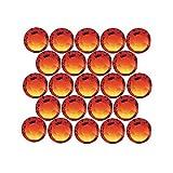 Swarovski Elements Hotfix 2028Strassstein, flache Rückseite Kristallgröße SS20, Fire Opal (50)