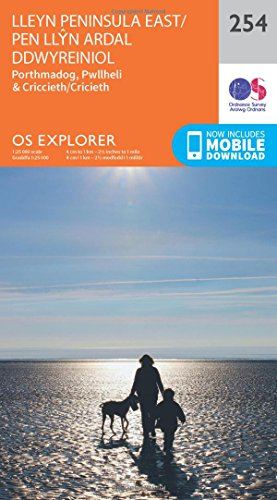 os-explorer-map-254-lleyn-peninsula-east