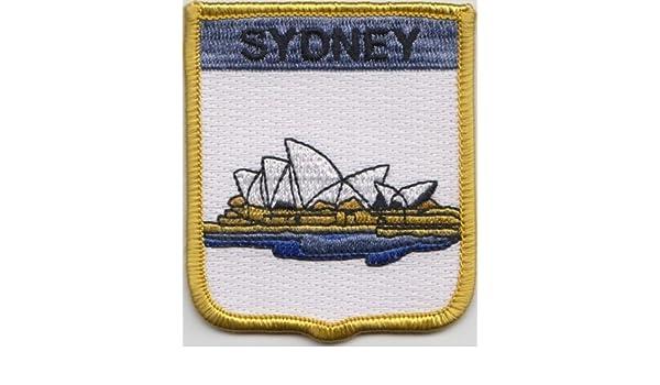 Sydney Aufnäher Patch Australien Anstecknadel Fahne Flagge Küche Haushalt