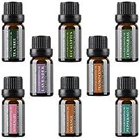 Set de aceites esenciales puros para aromaterapia de Wasserstein (Parte superior 8)