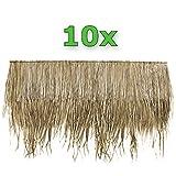 Wilai 10 Stück Palmendächer Palmdach Paneele Palmschindel Palmenblätter 145 cm