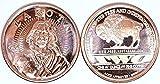 American Indian Lakota lingot pièce de monnaie ronds 999en cuivre 1G Superbe Pure en métal...