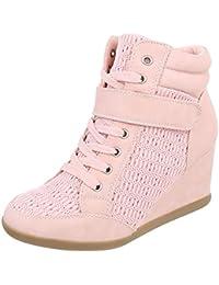 Zapatos para mujer Botas Plataforma Botines de tacon de cuna Ital-Design