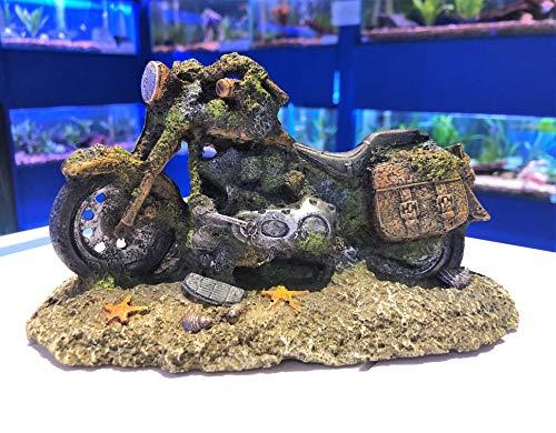 Mezzaluna Dekoelement für Motorrad- / Fahrrad- / Aquarium, Dekoration -