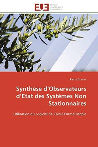 Synthèse d observateurs d etat des systèmes non stationnaires
