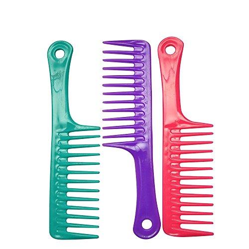 3Stück bunte Hair Styling Friseur Kämme Set–Tütenfüller/Weihnachten sockenfüllmaterial