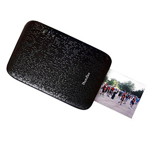 Imprimante Photo Portable PhotoBee WiFi pour Smartphone Noire (+ 12 Photos offertes!)