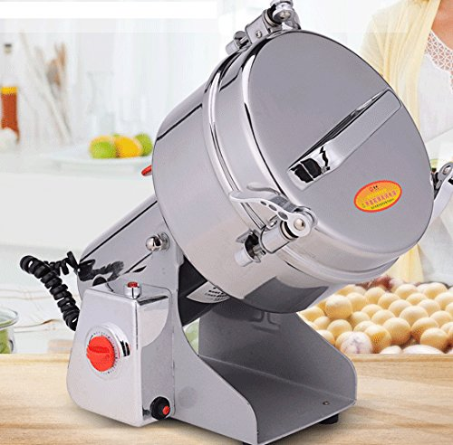 ParaCity Electric Grain Mill Swing Type Large-scale 2000g Stainless Steel Grain Grinder Cereal Mill Flour Powder Machine Herb Pulverizer Superfine Powder Machine 220V