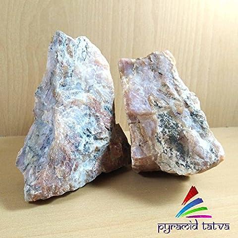 Pink Opal roh Kristall Heilstein Gewichte–200gms für–Frieden, Mitgefühl und viel