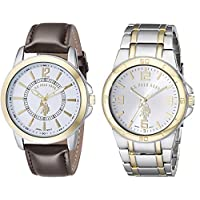 U.S. Polo Assn. USC2254 Set of Two Watches For Mens- Analog