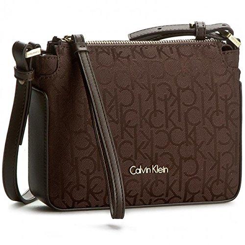 Calvin Klein K60K602204 225 borsa marrone Marrone Testa di Moro
