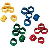 Kerbl Spiralring 16mm, Kunststoff, farblich gemischt, 100St./Pack