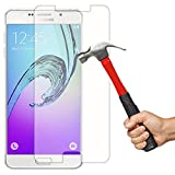 iKare 2.5D 9H Crystal Clear Tempered Glass Screen Protector for Samsung Galaxy A7 2016 Edition