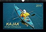 Kajak - Abenteuer und Entspannung (Wandkalender 2019 DIN A4 quer): Kajak, wilde Flüsse bezwingen oder ruhig über das Wasser gleiten - Abenteuer und ... (Monatskalender, 14 Seiten ) (CALVENDO Sport)