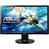"ASUS VG248QE - Monitor gaming de 24"" (144 Hz, LED retroiluminado, resolución FHD 1920 x 1080, 16:9, brillo 350 cd/m2, respuesta 1 ms GTG, 2 altavoces estéreo de 2 W RMS)"