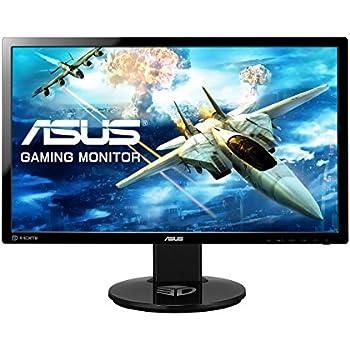 Asus VG248QE Gaming Monitor, 24'' FHD da 1920x1080, 1 ms, fino a 144 Hz, DP, HDMI, DVI-D
