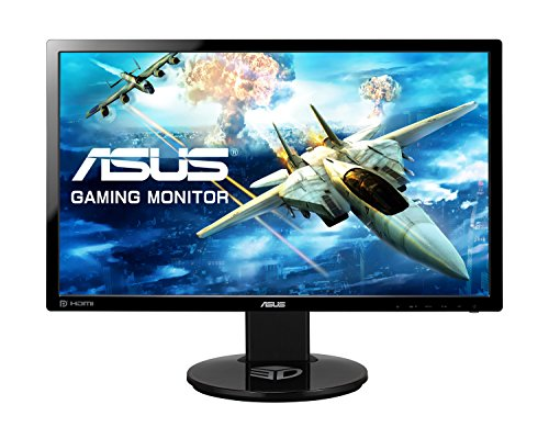 ASUS VG248QE 24 inch Widescreen LED multi-media 3D Monitor (1920 x 1080, 80000000:1, 144 Hz, 1 ms, DVI monitor Port, HDMI) - Black UK