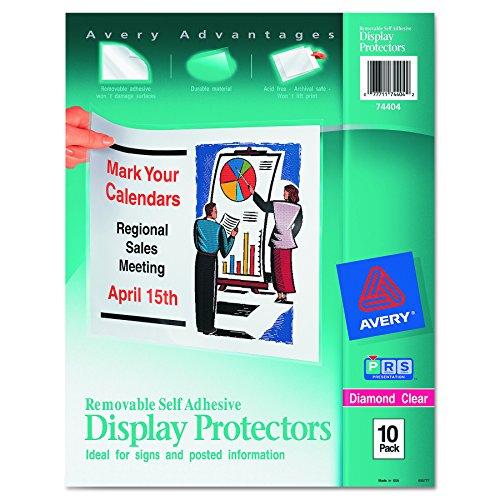 ay Größe Tabelle Protektoren, Buchstaben, 10pro Pack (74404) ()