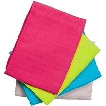 Odenw/älder 010038-11577 Mullwindeln Eule pink 80x80