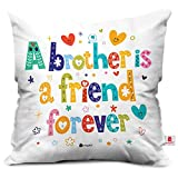 Best Little Brother - indibni A Brother is a Friend White Printed Review