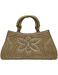 Partywear Designer Evening Embroidered Clutch, Give Stylish And Attractive Look In Casual Form, Party And Wedding