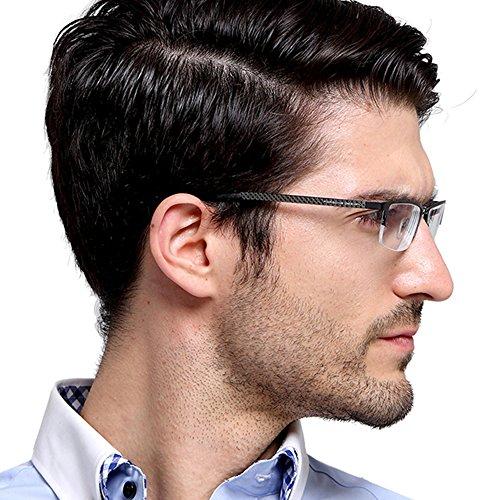 TERAISE Reine Titanium Brillen Fashion Business Brillengestel für Männer Klare Linse
