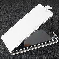 PREVOA Flip PU Funda Case Protictive para InnJoo Note Smartphone 5,5 Pulgadas - Blanco