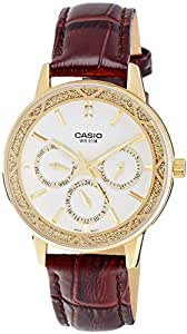 Casio Enticer Analog White Dial Women's Watch - LTP-2087GL-5AVDF (A911)