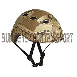 Airsoft Emerson Vented Pj Style Eco Fast Helmet Atp Multicam Helmet