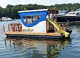 Hausboot Mc-Boot Motorkatamaran (komplett mit 8PS Motor und Rutsche)
