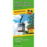 Wanderkarte Bad Harzburg, Goslar, Altenau mit Brocken: Mit Ausflugszielen, Einkehr- & Freizeittipps und Stadtplänen, wetterfest, reissfest, abwischbar, GPS-genau. 1:25000
