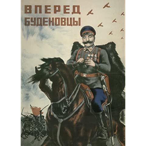 La Unión Soviética ruso Propaganda amnioinfusión GENERAL BOUDENOVTSY satén 200gsm A3 cartel de la reproducción en tarjeta del