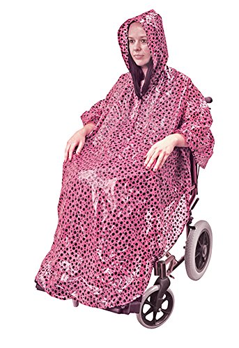 Aidapt VA127CP Rollstuhlponcho - Tupfen (Personal Cover Weather)