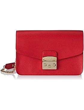 Furla Damen Metropolis S Shoulder Bag Business Tasche, 9x18x25 cm