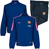 Nike Warm Up - Chándal de fútbol para niño, color Azul (Deep Royal Blue/Dark Obsidian/Hyper Pink), talla XL