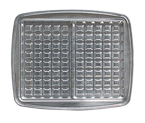 Lagrange 030121, Confezione piastre per gaufre/waffel per macchina per gaufre/waffel Super 2