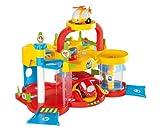 Smoby 211265 - Vroom Planet Meine erste Werkstatt mit DVD Kleinkindspielzeug