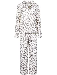 MIXLOT Damen, Frauen-reizvoller Winter / Casual Wear Printed Mädchen Flanell-Pyjama-Set Größe: 36-48