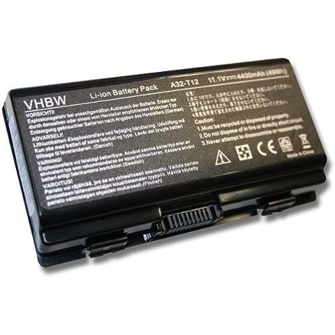 Variation vhbw Li-Ion Batteria 4400mAh (11.1V) per Notebook PC Portatile