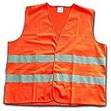 Warnweste DIN EN 471 - Universalgröße Orange