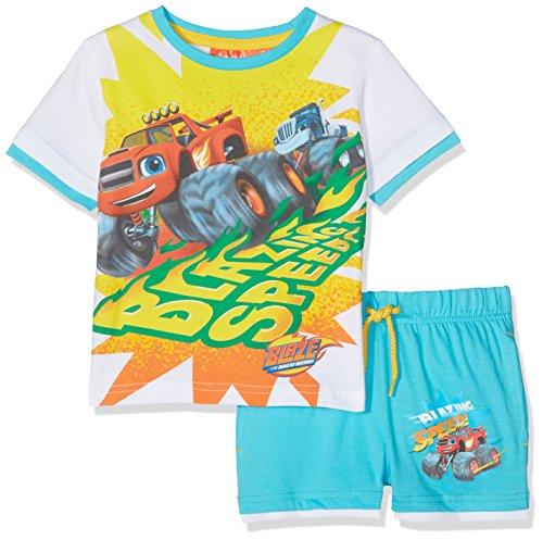 Disney blaze completo sportivo, blu blue, 5-6 (dimensioni produttore:6 anni) bambino
