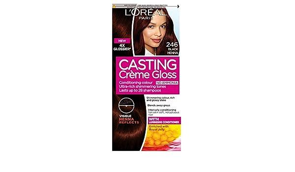 L Oreal Casting Creme Gloss Black Henna 246 Amazon Co Uk Health