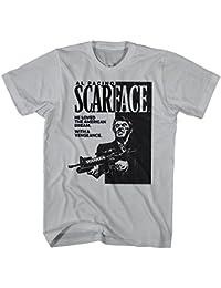 2Bhip Película de crimen mafioso cartel de tony montana scarface camiseta de 1980 para hombre d7oJY