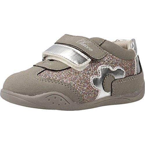 Zapatillas para ni�a, color gris , marca CHICCO, modelo Zapatillas Para Ni�a CHICCO GLENNA Gris