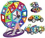 Rvold 58 PCS Mag Magical Magnetic Building Blocks 3D Magic Play Stacking Set