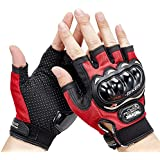 PulGos Half Cut Glove/Bike Glove/Racing Gloves/Driving/Biking/Motorcycle Gloves
