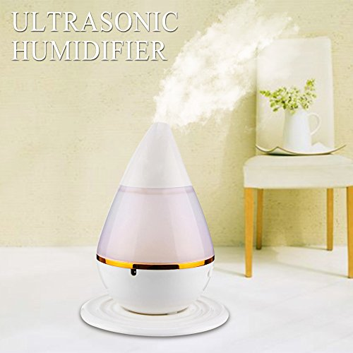 SUPO lectric Ultrasonic Diffuser and Humidifier With 7 LED Color
