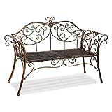 Best Better Homes & Gardens Outdoor Benches - HLC Metal antique garden bench Outdoor Doubel Seat Review
